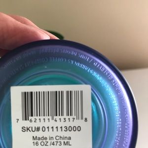 Starbucks Other - PRICE FIRM Starbucks Blue Ombré Double-wall Tumble